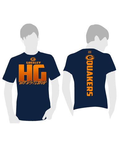 Greeley Wrestling Dri-fit Weave Tee-Shirt - X-Athletic