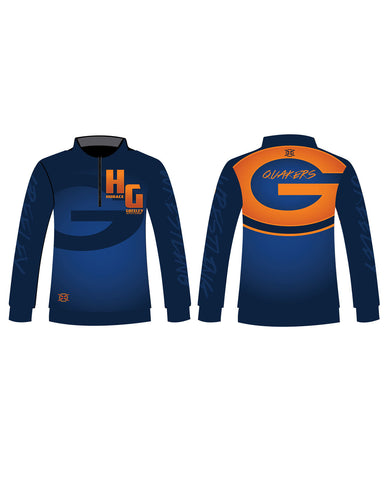 Greeley Wrestling 1/4 Zip Warm Up - X-Athletic