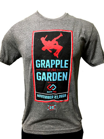 Official Grapple At The Garden Tee