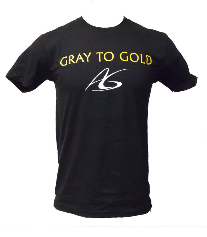 Men's Adeline Gray 'Gray to Gold' Crew-Neck T-Shirt - X-Athletic