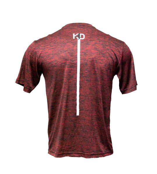 Kyle Dake Wrestling Tee Red Heather - X-Athletic