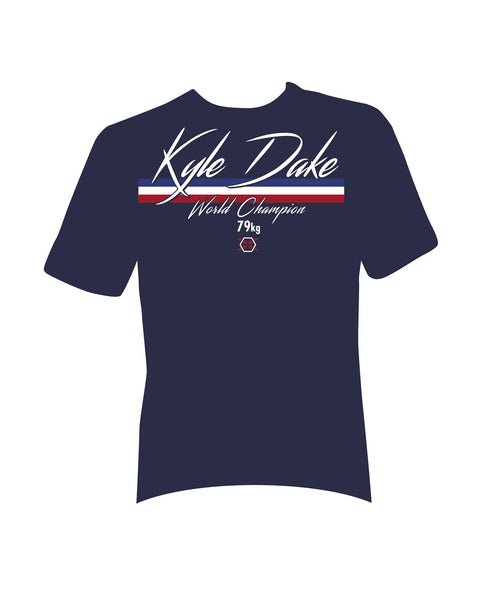 Kyle Dake Official World Champion Tee