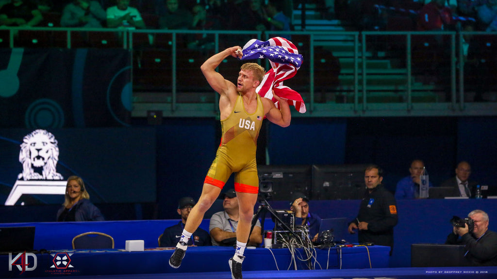 Kyle Dake 2018 World Champion Wallpaper - X-Athletic