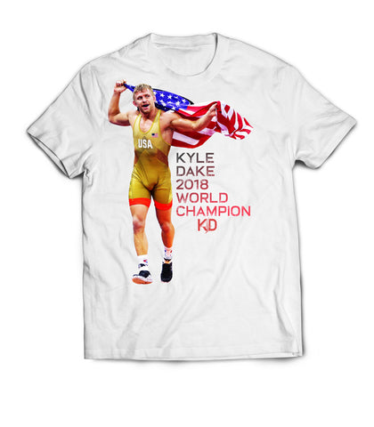 Kyle Dake World Champion Flag - X-Athletic