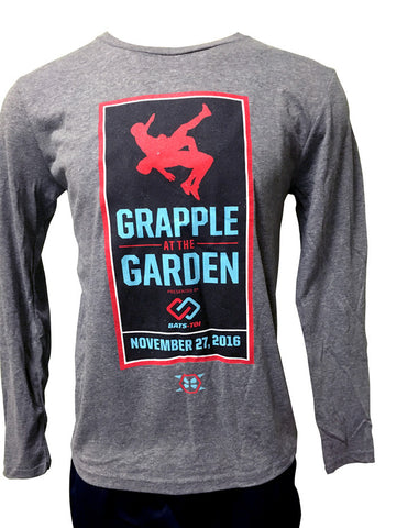 Official Grapple At The Garden Long Sleeve Tee