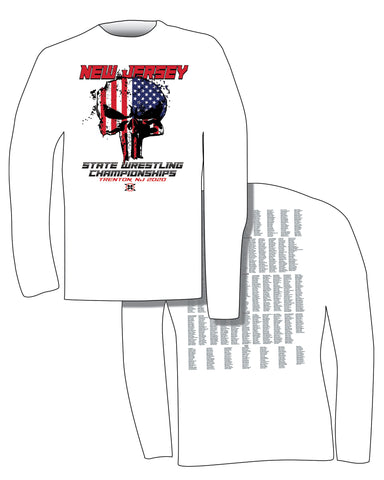 NJ State Championship Long Sleeve Tee