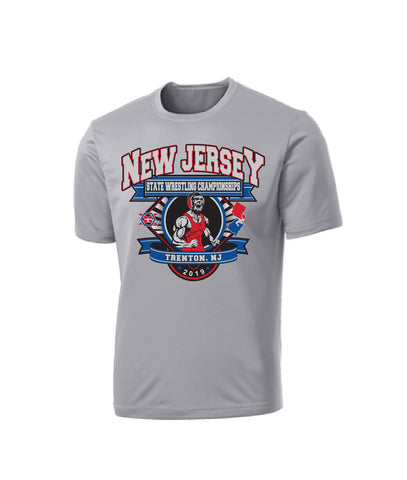 The Official New Jersey State Championship Tee