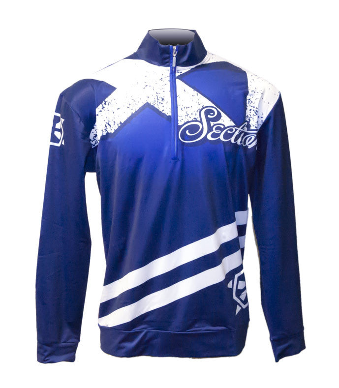Section XI Chest Zip Warm Up - X-Athletic