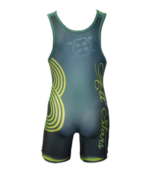 Section VIII Wrap-Around Tournament Singlet - X-Athletic
