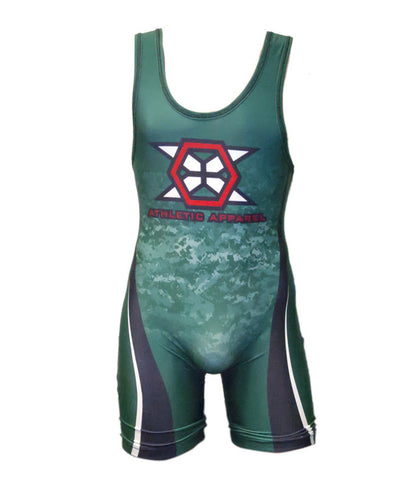 Section VIII Tournament Singlet - X-Athletic