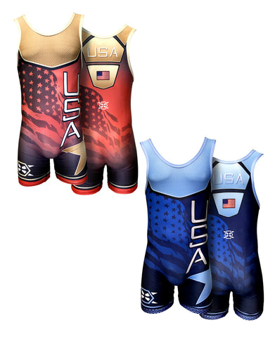 USA Singlet - X-Athletic