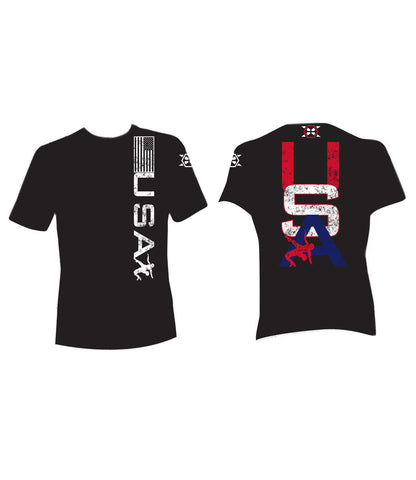 USA Wrestling Tee - X-Athletic