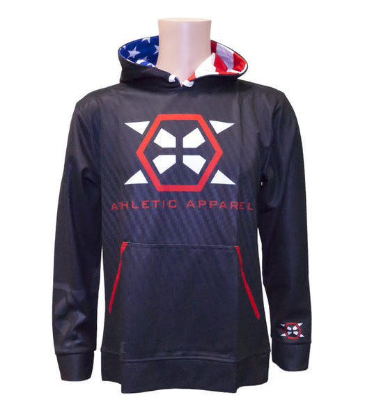 X-Athletic Sublimated Hoodie - X-Athletic