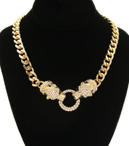 Jaguar Chain Necklace