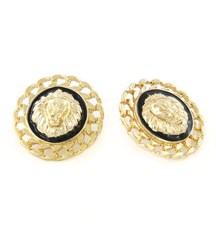 Royal Lion Earrings