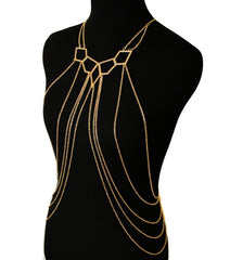 Golden Goddess Body Chain