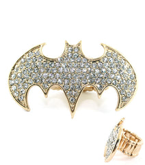 Crystal Batman Ring