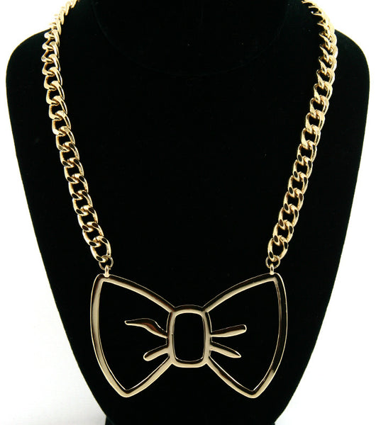 Cutesy Bow Necklace