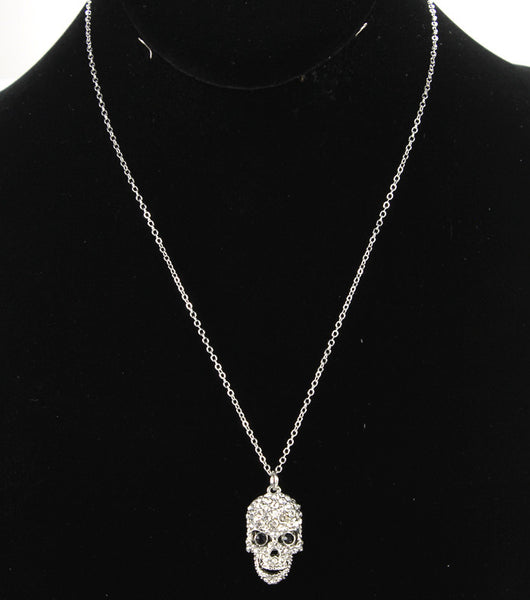 Crystal Skull Necklace (More Colour Available)