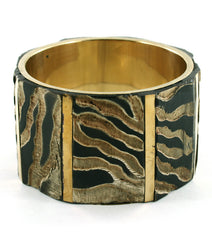 Animal Print Goddess Bangle
