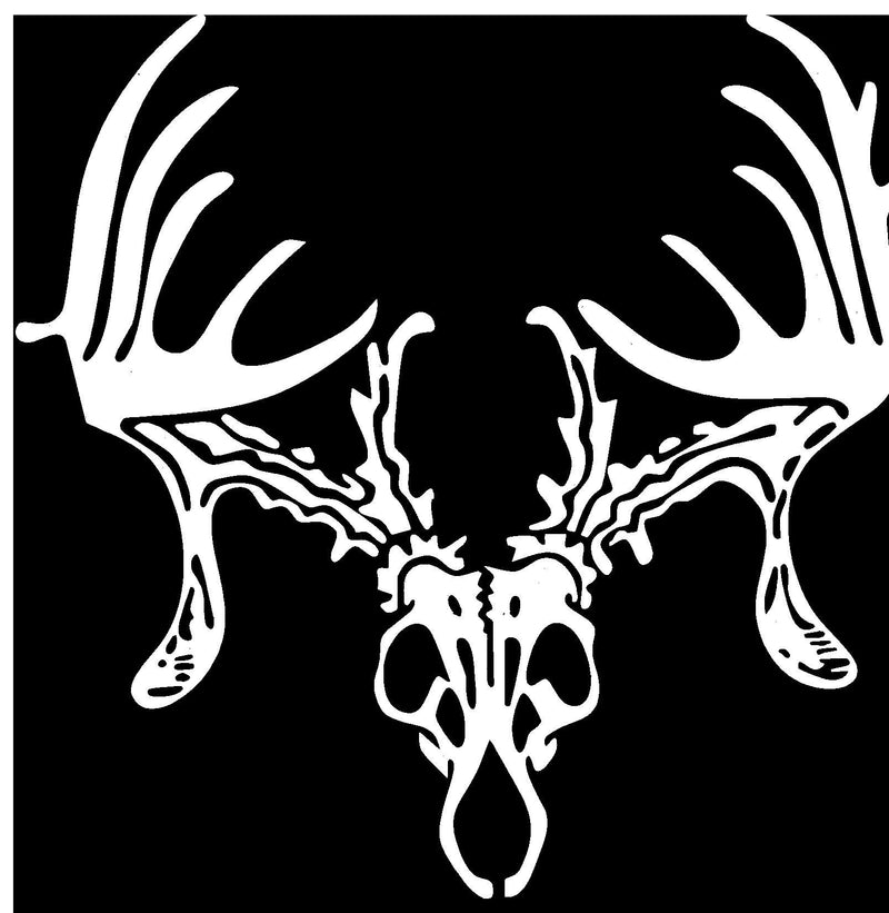Deer Scull Decal