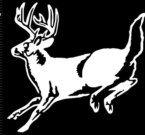 Deer Leaping Decal