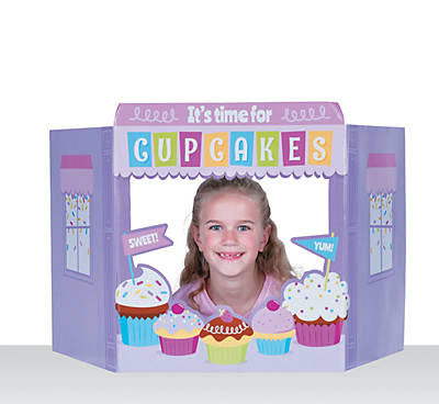 Fun Cupcake Party Photo Stand