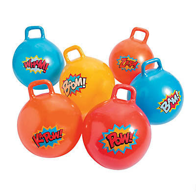 Superhero Happy Hoppers (6 Pack)