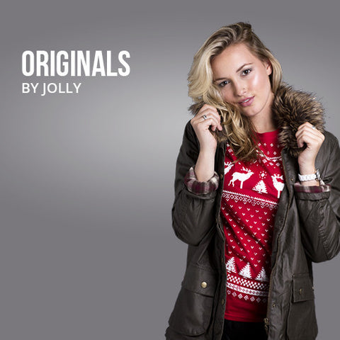 d94a87a0208 Originals by Jolly - Women s – Christmas Jumper Style t-shirts   tops by  Jolly Clothing