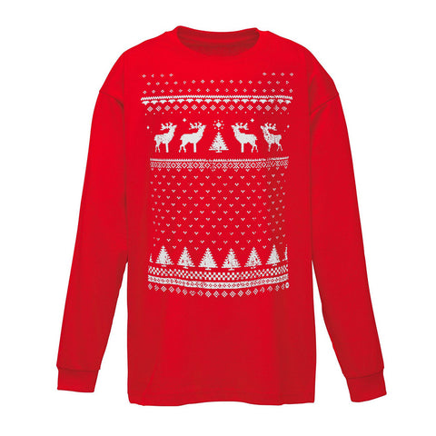 Children's Reindeer Long Sleeve Tee