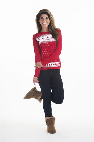 Womens Ski Long Sleeve Tee
