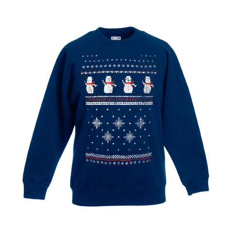 Children's Snowman Sweatshirt