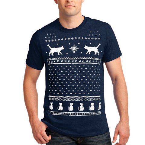 Mens Christmas Cats