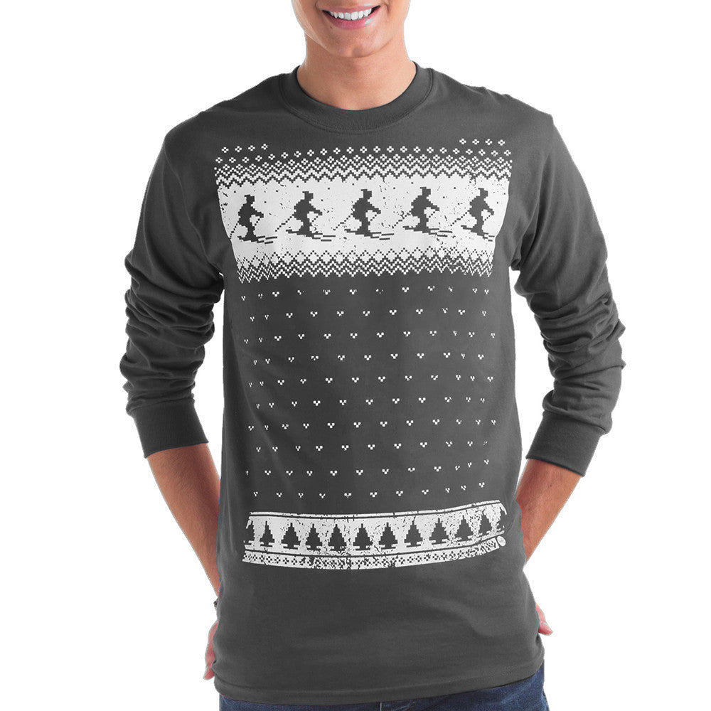 Mens Ski Long Sleeve Tee