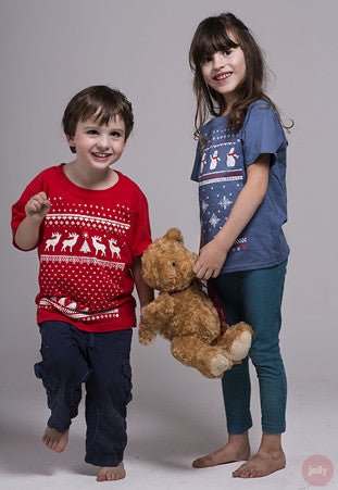Children's Snowman T-Shirt