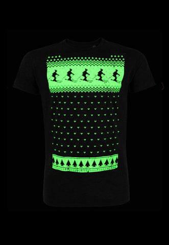 Mens Glow in the Dark Ski