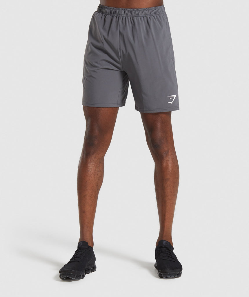 Gymshark Arrival Shorts - Charcoal 1