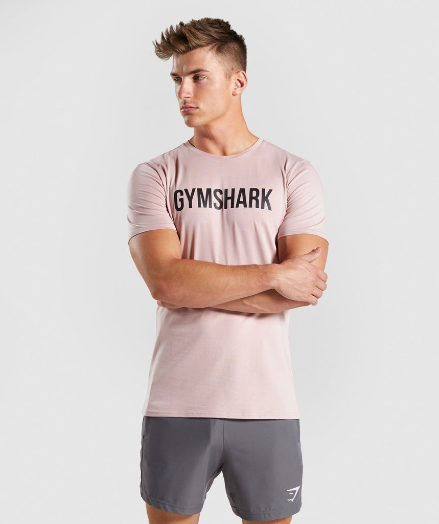 Gymshark Base T-Shirt - Pink 1