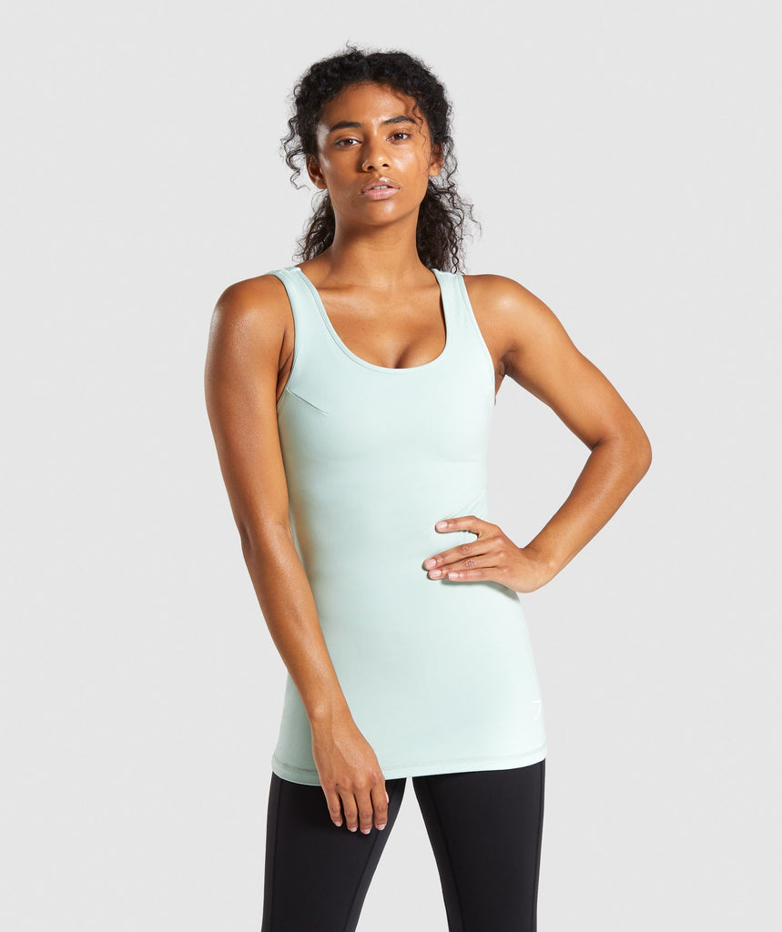 Gymshark Dreamy Vest - Light Green 1