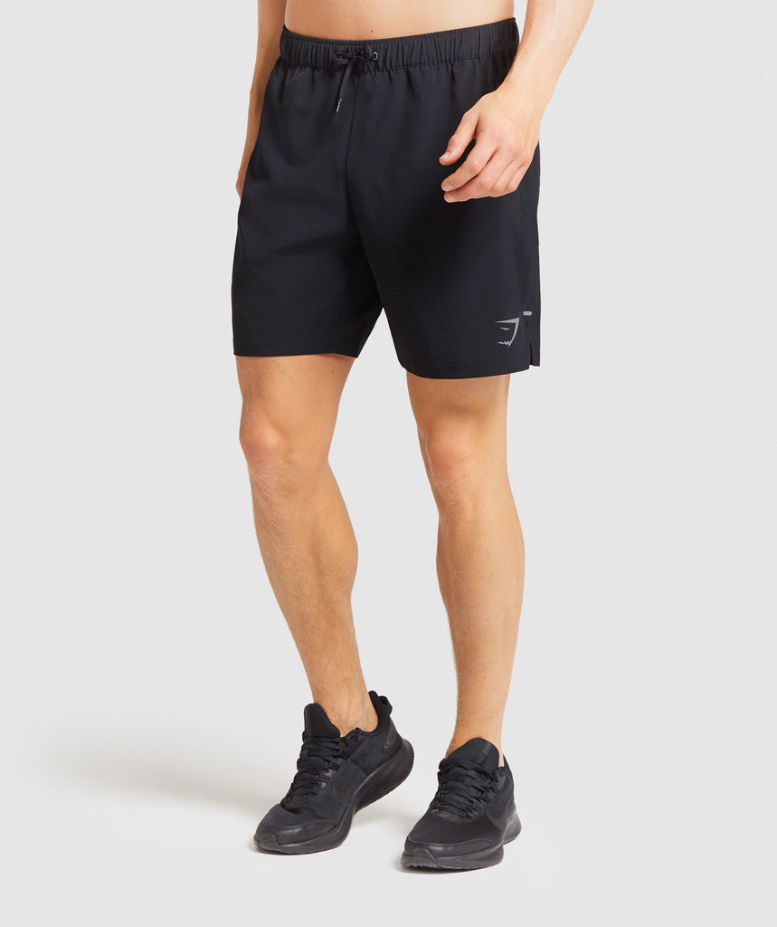 "Gymshark Element Hiit 7"" Shorts - Black 1"