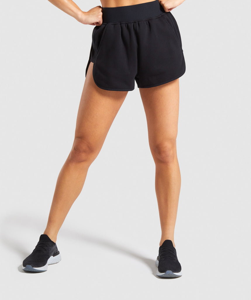 Gymshark Legacy Fitness Shorts - Black 1