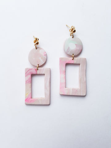 2 Pairs of Clay Earring Reserved for Karla - Private Listing