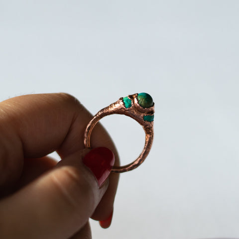 The Globetrotter Ring - Size 7