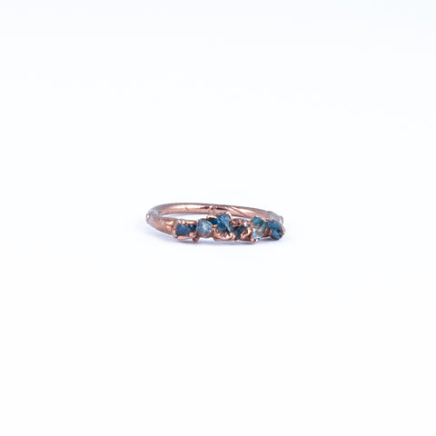 Aquamarine Ring - Size 3.5