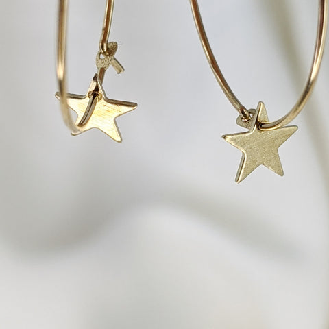 BITUIN - Mini Star Hoops