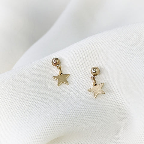 BITUIN - Star Dangle Studs