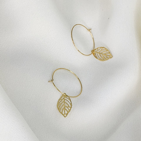 GUAVA LEAF Hoops