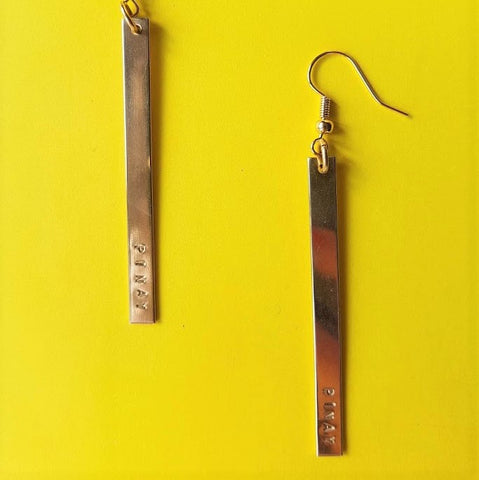 PINAY Bar Earrings