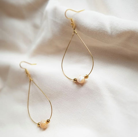 RAINSHINE Earrings - Mother of Pearl
