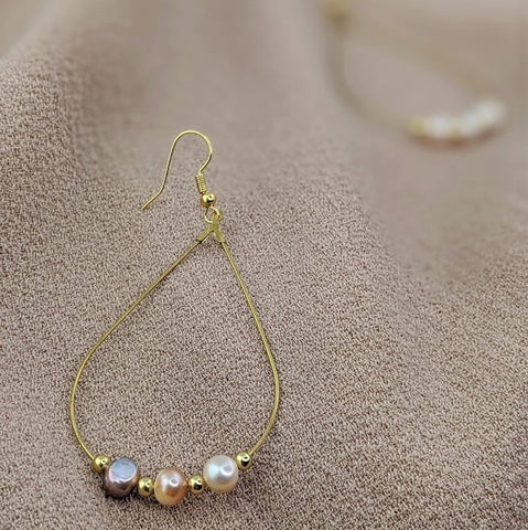 RAINSHINE Earrings - Pearl